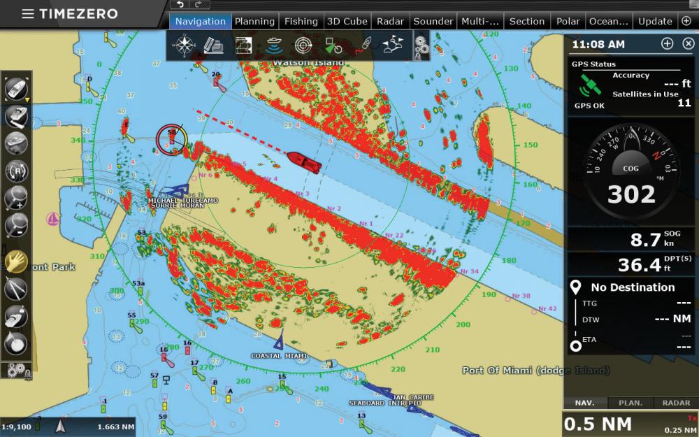 Ais Radar Overlaying 1280x800 Screenshots